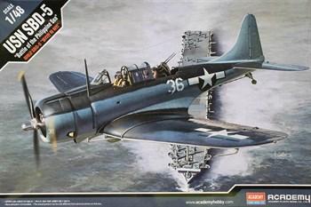 "Сборная модель Самолет  USN SBD-5 ""Battle of the Philippine Sea""  (1:48) Academy"