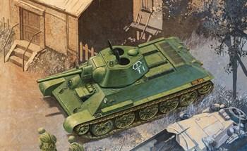 T-34/76 Mod.1942 Hexagonal Turret Soft Edge Type  (1:35)