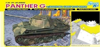 Сборная модель Panther G W/Additional Turret Roof Armor  (1:35) Dragon