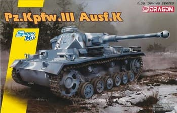Сборная модель Pz.Kpfw.Iii Ausf.K  (1:35) Dragon