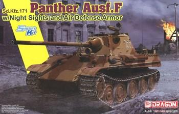Сборная модель Sd.Kfz.171 Panther Ausf.F W/Night Sights And Air Defense Armor  (1:35) Dragon