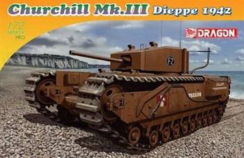 Сборная модель Churchill Mk.Iii Dieppe 1942  (1:72) Dragon