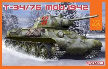 Танк T-34/76 Mod.1942  (1:72)