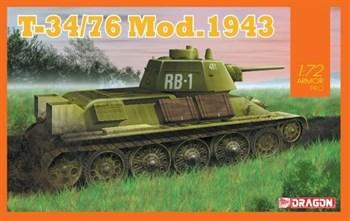 Танк T-34/76 Mod.1943  (1:72)