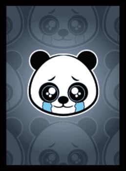Sad Panda Matte Sleeves 50