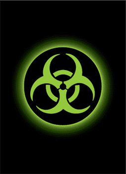 Absolute Iconic - Biohazard Matte Sleeves 50