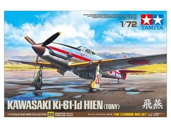 Сборная модель 1/72 Kawasaki Ki-61-Id Hien - (Tony) Tamiya