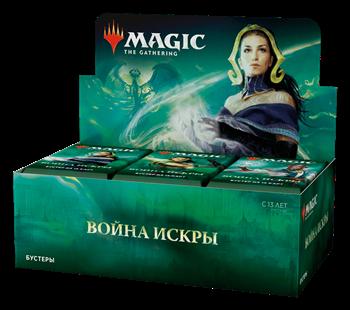 Дисплей бустеров выпуска «Война Искры» (русский)