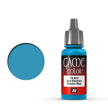 Game Color Electric Blue 17 ml.