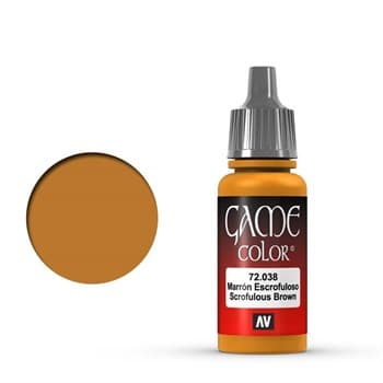Game Color Scrofulous Brown 17 ml.