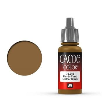Game Color Leather Brown 17 ml.