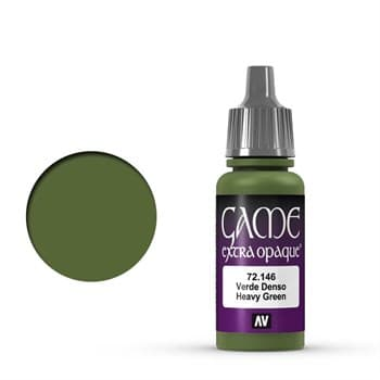 Game Color Heavy Green 17 ml.