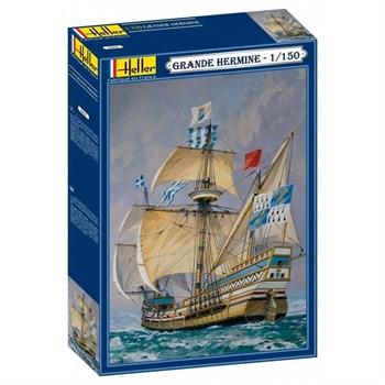 Корабль Grande Hermine  (1:150)