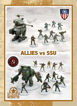 Battle for Zverograd - SSU vs Allies (собран и загрунтован) Битва за Звероград — ССУ против Союзников