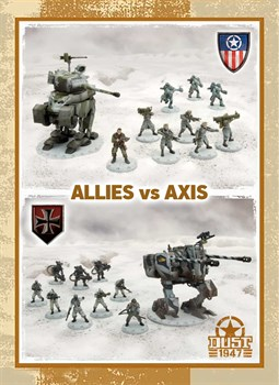 Battle for Zverograd - Axis vs Allies (собран и загрунтован) Битва за Звероград — Ось против Союзников