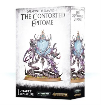Daemons Slaanesh: The Contorted Epitome