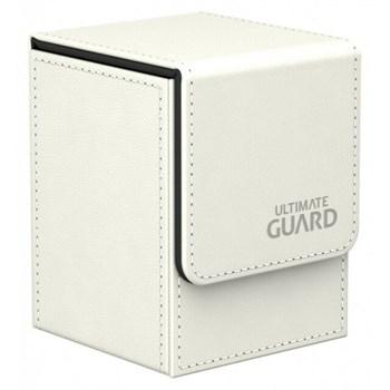 Flip Deck Case 100+ Standard Size White