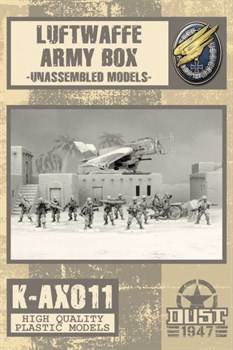 LUFTWAFFE ARMY BOX - MODEL KIT
