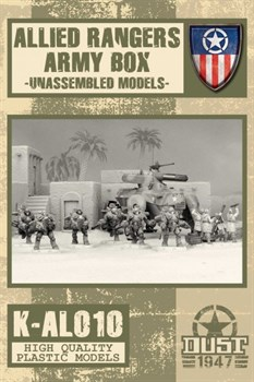 HEAVY RANGERS ARMY BOX - MODEL KIT