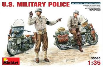 Мотоцикл  U.S. Military Police  (1:35)
