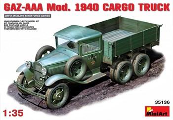 Автомобиль  Aaa Mod. 1940 Cargo Truck  (1:35)
