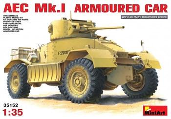 Бронеавтомобиль  Aec Mk.I Armoured Car  (1:35)