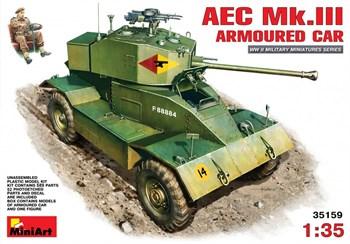 Бронеавтомобиль  Aec Mk.Iii Armoured Car  (1:35)