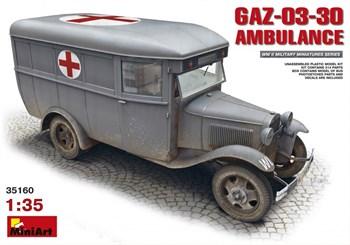 Автомобиль  03-30 Ambulance  (1:35)