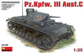 Танк  Pz.Kpfw.Iii Ausf.С  (1:35)