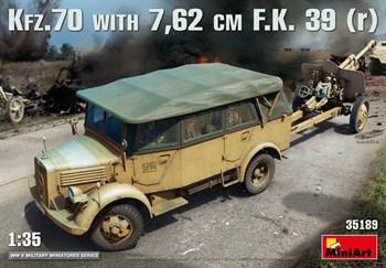 Автомобиль Kfz.70 & 7,62 Cm F.K. 39 ( R )  (1:35)