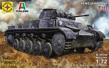 Немецкий Танк Т-Ii  (1:72)