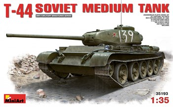 Танк  T-44 Soviet Medium Tank  (1:35)