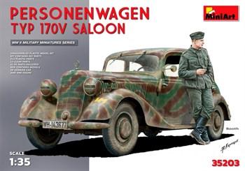 Автомобиль  Personenwagen Typ 170v Saloon  (1:35)