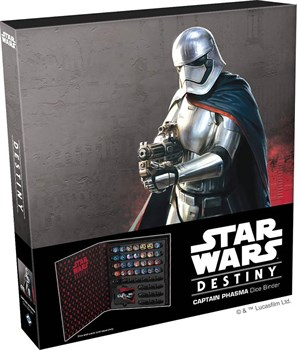 Star Wars Captain Phasma Dice Binder