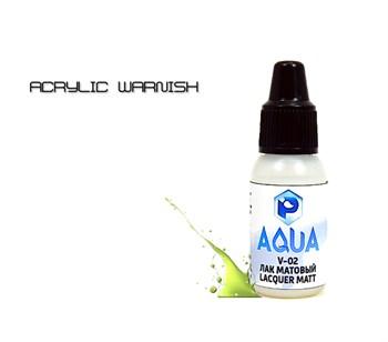 Лак матовый  Aqua