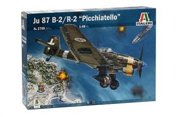 "Самолёт JU 87 B-2/R-2 ""PICCHIATELLO""  (1:48)"