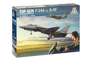 "Самолёт  ""Top Gun"" F-14A vs A-4F  (1:72)"