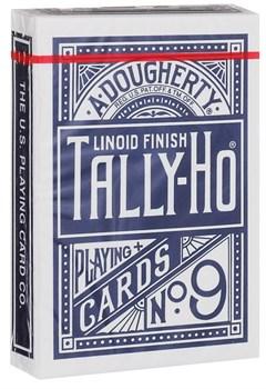 """Игральные карты """"Талли-Хо"""" (TALLY-HO, Circle back), 54 листа, синие и красные рубашки"""