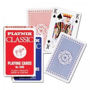 1300 Игральные карты Классик Бридж, 55 листов