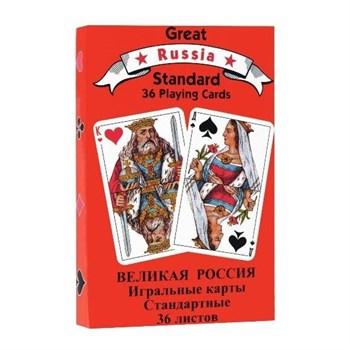 Игральные карты Русский стандарт, 36 листов