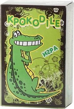 """Словесная игра  """"Крокодил""""  (108 карточек) + инструкция"""
