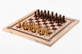 Шахматы+шашки+нарды 3 в 1 (400 х 200 х 36)