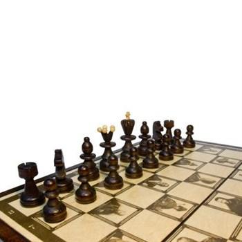 """Шахматы """"Империя"""", дерево (35 х 17,5 х 5)"""