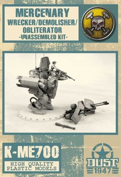DEMOLISHER/WRECKER/OBLITERATOR  - MODEL KIT