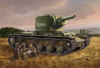 Russian KV-2 Tank  (1:48)