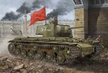 Russian Kv-1 1942 Simplified Turret Tank  (1:48)