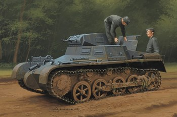 Танк  German Panzer 1Ausf A Sd.Kfz.101(Early/Late Version)   (1:35)