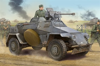 Танк  Le.Pz.Sp.Wg Sd.Kfz.221 Early  (1:35)