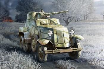 Автомобиль Soviet Ba-10 Armor  (1:35)