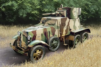 Автомобиль Soviet Ba-6 Amor Car  (1:35)